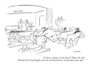 al-ross-is-there-a-doctor-in-the-house-that-s-the-call-harold-s-been-waiting-new-yorker-cartoon